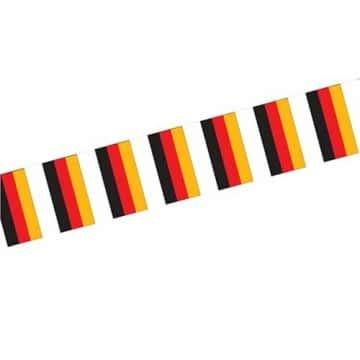 Flaggenkette Deutschland, wetterfester Kunststoff - 1