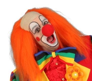 Fliege: Clown-Fliege, bunt, Webware - 1