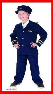 Flugkapitän : Mütze, Hose und Jacke - 1