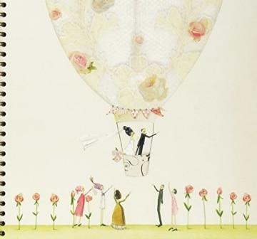 Fotoalbum zur Hochzeit: Brautpaar im Ballon - 1