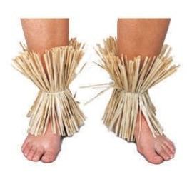 Fußschellen: Hawaii-Fußschellen, natur oder bunt - 1