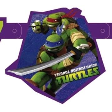 """Geburtstagskette: Partykette, """"Teenage Mutant Ninja Turtles"""" - 2"""