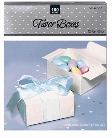 Geschenkschachteln, elfenbein, 73 x 38 x 50 mm, 100 Stück - 1