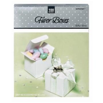 Geschenkschachteln, weiß, 73 x 38 x 50 mm, 100 Stück - 1
