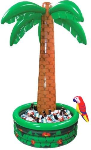 Getränkekühler: Palme, aufblasbar, 180 cm - 2