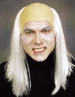 Glatze: Zombie-Glatze mit weißblonden Haaren - 1