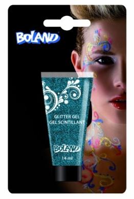 Glittermakeup blau, Körperglitter - 1