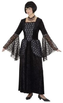 Gothic Vampiress: Spitzen-Kleid - 1