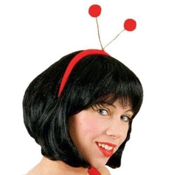 Haarreif: Käfer-Haarreif, rote Fühler - 1