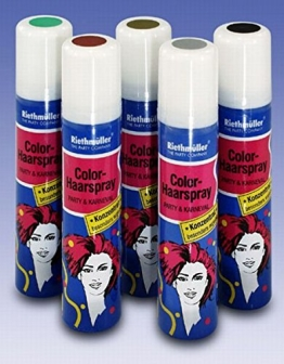 Haarspray, silber, auswaschbar, 100 ml - 1