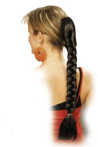 Haarteil: Ansteckzopf mit Kamm, 50 cm, verschiedene Farben - 1
