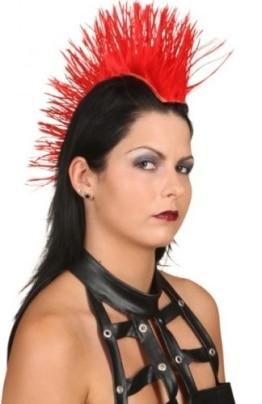 Haarteil: Irokesen-Haarteil, mit Clips zum Anheften, verschiedene Farben - 1
