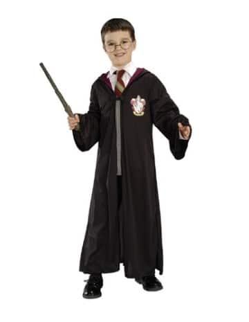 Harry Potter Set, Robe mit Brille und Zauberstab Verkleidung - 2