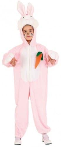 Hase rosa mit Möhre - 1