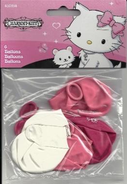 Hello Kitty: Luftballons, Charmmy Kitty, 70 cm Umfang, 6 Stück - 1