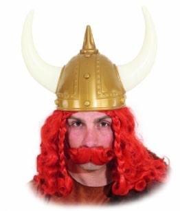 Helm: Barbarenhelm mit Hörnern - 1