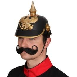 Helm: Pickelhaube, Kopfweite 59/60 - 1