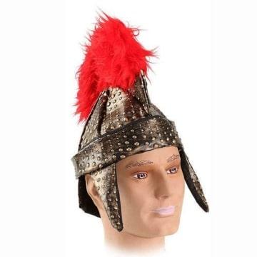 Helm: Römer-Helm, Federbusch - 1