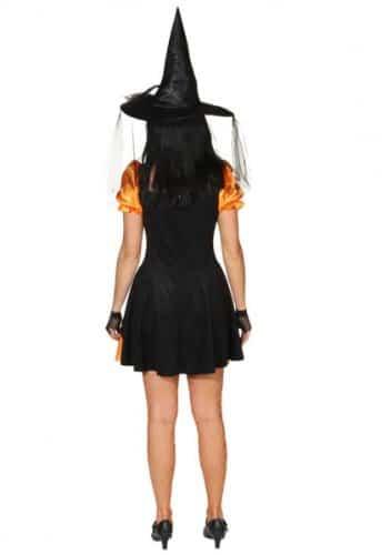 Hexe Leila orange-schwarz - 2