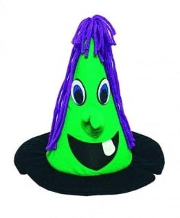 Hexenhut für Kinder: witzige Hexe - 1