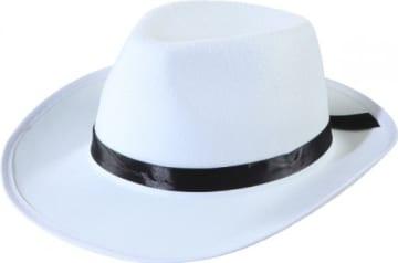 Hut, Bogart-Stil, weiß - 1