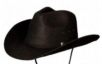 """Hut: Cowboyhut """"Texas"""", schwarz oder braun, verschiedene Größen - 1"""