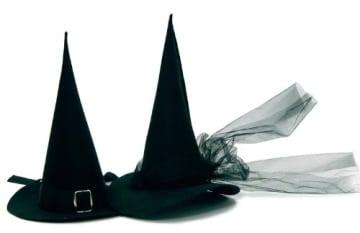 Hut 'Die echte Hexe' Walpurgis Verkleidung - 1