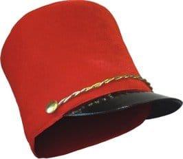Hut: Hut für Uniform, rot - 1