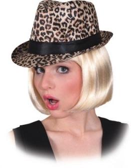 Hut: Hut mit Leoparden-Muster, Einheitsgröße - 1