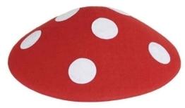 Hut: Pilz-Hut, Fliegenpilz, Kindergröße - 1