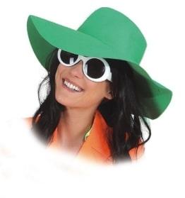 Hut: Schlapphut, für Damen, hellgrün - 1