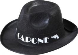 "Hut, schwarz, ""Al Capone"" - 1"