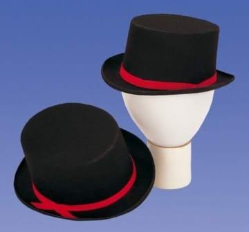 Hut: schwarzer Zylinder - 1