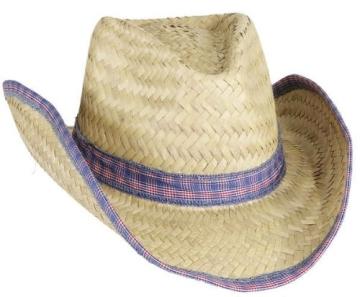 """Hut: Strohhut """"Colt"""", elastisches Hutband, Kopfweite 56 – 61 - 1"""