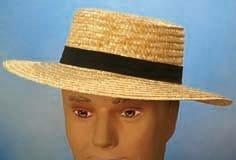 """Hut: Strohhut """"Kreissäge"""", Deluxe-Artikel, elastisches Hutband, Kopfweite 56 – 61 - 2"""