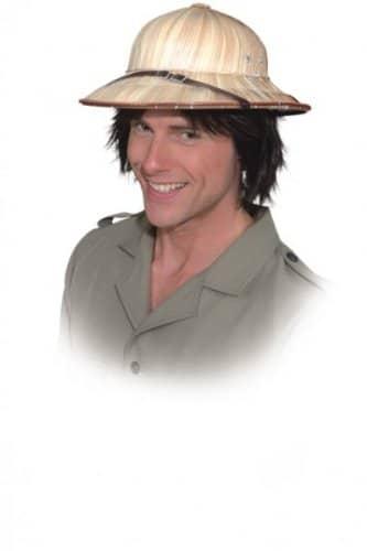 Hut: Tropenhelm, aus Stroh, Kopfweite 60 - 1
