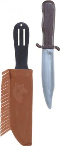 Indianer-Kostüm: Messer in Lederscheide - 1