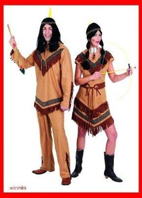 Indianerin Cheyenne : Kleid und Gürtel - 1