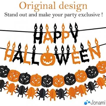 Jonami Halloween Deko Set XXL Spinnen, Kürbisse, Luftballons und mehr 3