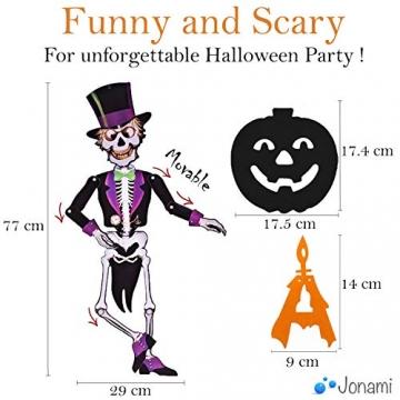 Jonami Halloween Deko Set XXL Spinnen, Kürbisse, Luftballons und mehr 4