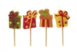 """Kerzen: Mini-Figuren-Kerzen, """"Happy Birthday"""", 8 Stück - 1"""
