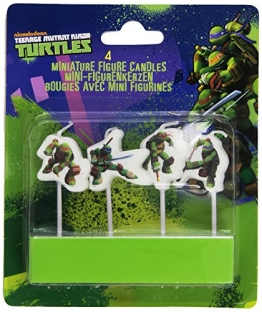 "Kerzen: Mini-Figuren-Kerzen, Motiv ""Teenage Mutant Ninja Turtles"" - 1"