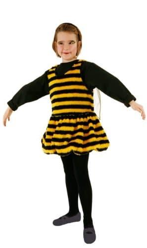 Kesse Biene : Plüschkleid mit Flügeln - 1