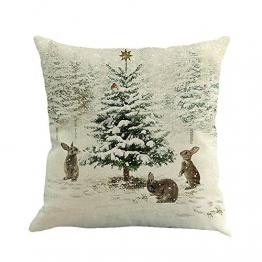 Kissenbezüge Weihnachten Deko Weihnachtsbaum 1