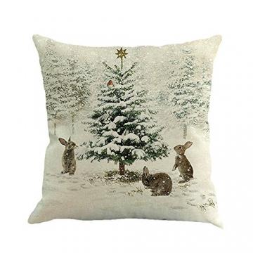 Kissenbezüge Weihnachten Deko Weihnachtsbaum 2