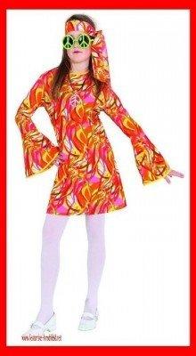 Kleid bunter Wirbel pink-bunt - 1