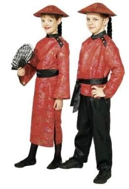 Kleid Chinesen Mädchen - 1