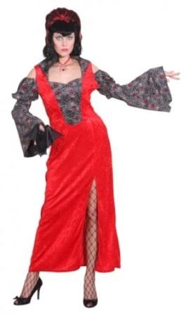 Kleid Red Spider Lady - 1