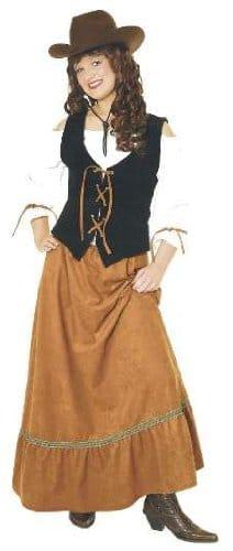 Kleid: Texas-Girl, Western-Kostüm - 1