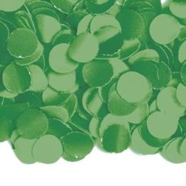 Konfetti: Papier-Konfetti, dunkelgrün, 8 cm Durchmesser, 1 kg - 1